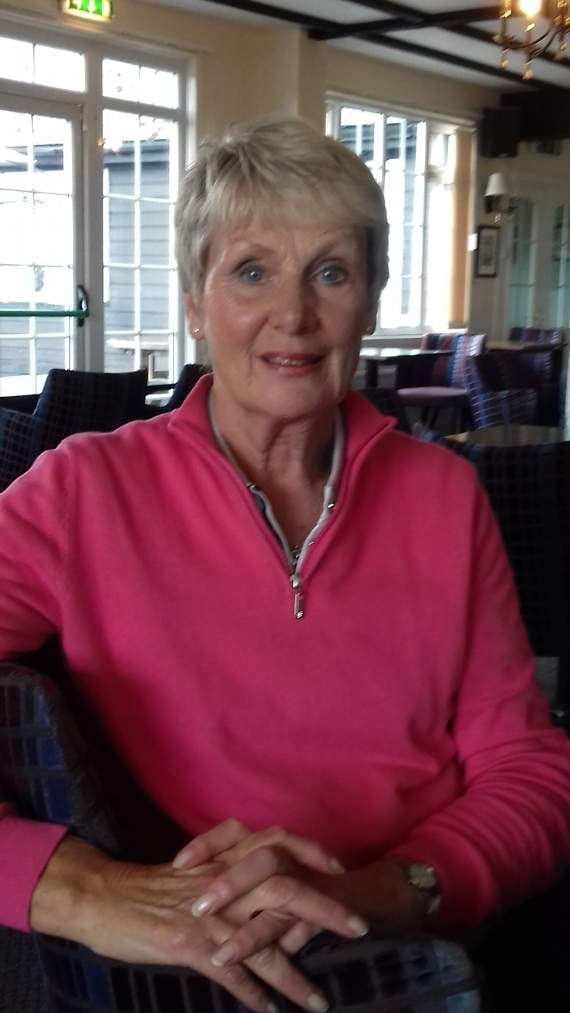 Sue's success in Stableford