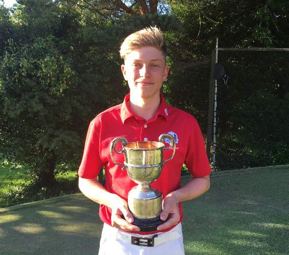 Peter Howell named Okehampton Golf Club champion as youth reigns supreme
