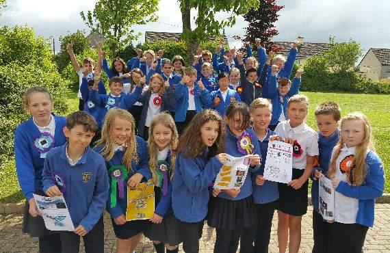Bere Alston Primary holds mock vote on election day