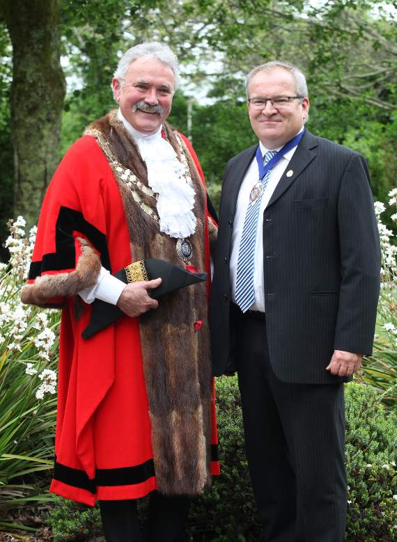 New West Devon Mayor 'looking forward to the challenges ahead'