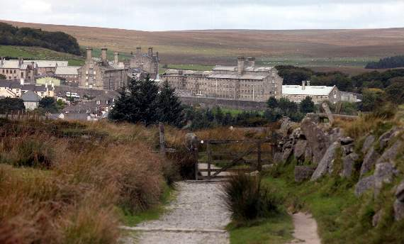Dartmoor Prison inmate scales jail roof in security breach