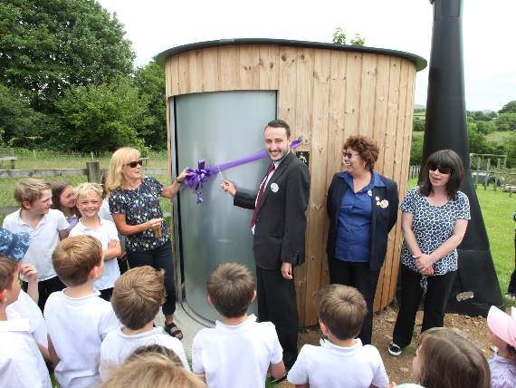 Waterless 'WooWoo' loo installed at Mary Tavy and Brentor Primary School