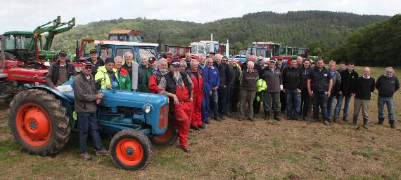 Marystowe tractor run a big hit