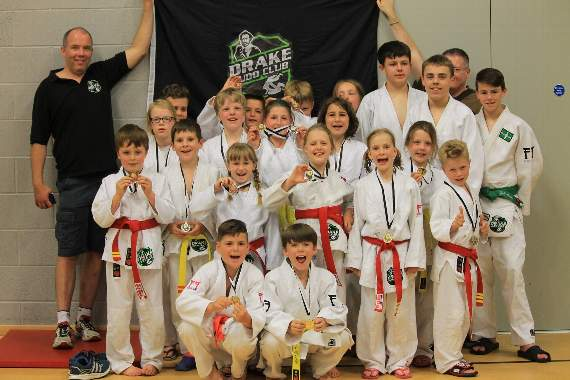 Impressive medal haul for young judo club