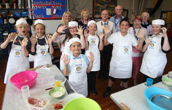 Princetown Pasty Bake Off at primary school
