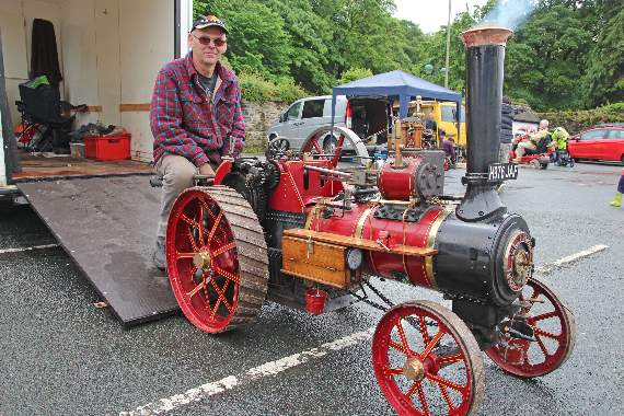 Full steam ahead despite rain at 27th Robey Trust Steam Fair