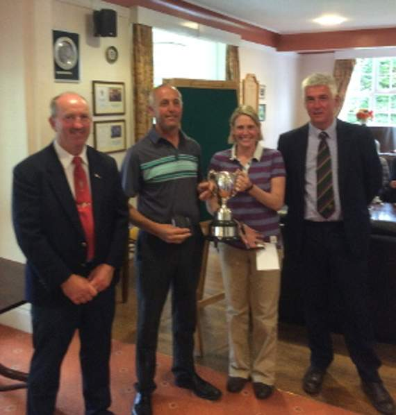 George and Nicky win Dartmoor fours