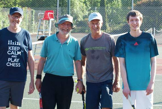 Tavistock B tennis team put out challenge by the Ashes