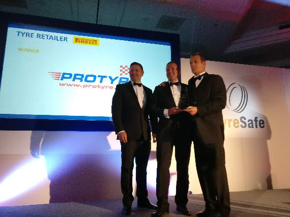 Safety prize for town tyre firm