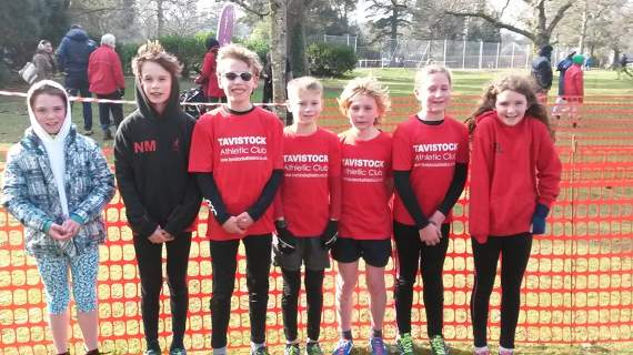 Tavistock Athletic Club runners out in force for the cross country league