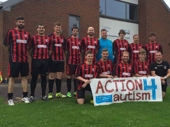 Community club proud to wear shirt backing Action4Autism awareness